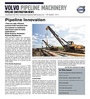 Volvo CE Oil & Gas Newsletter